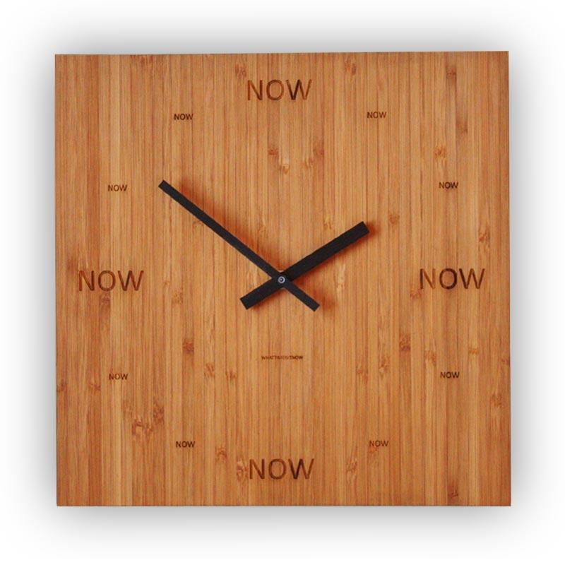 NowNowClock Bamboo