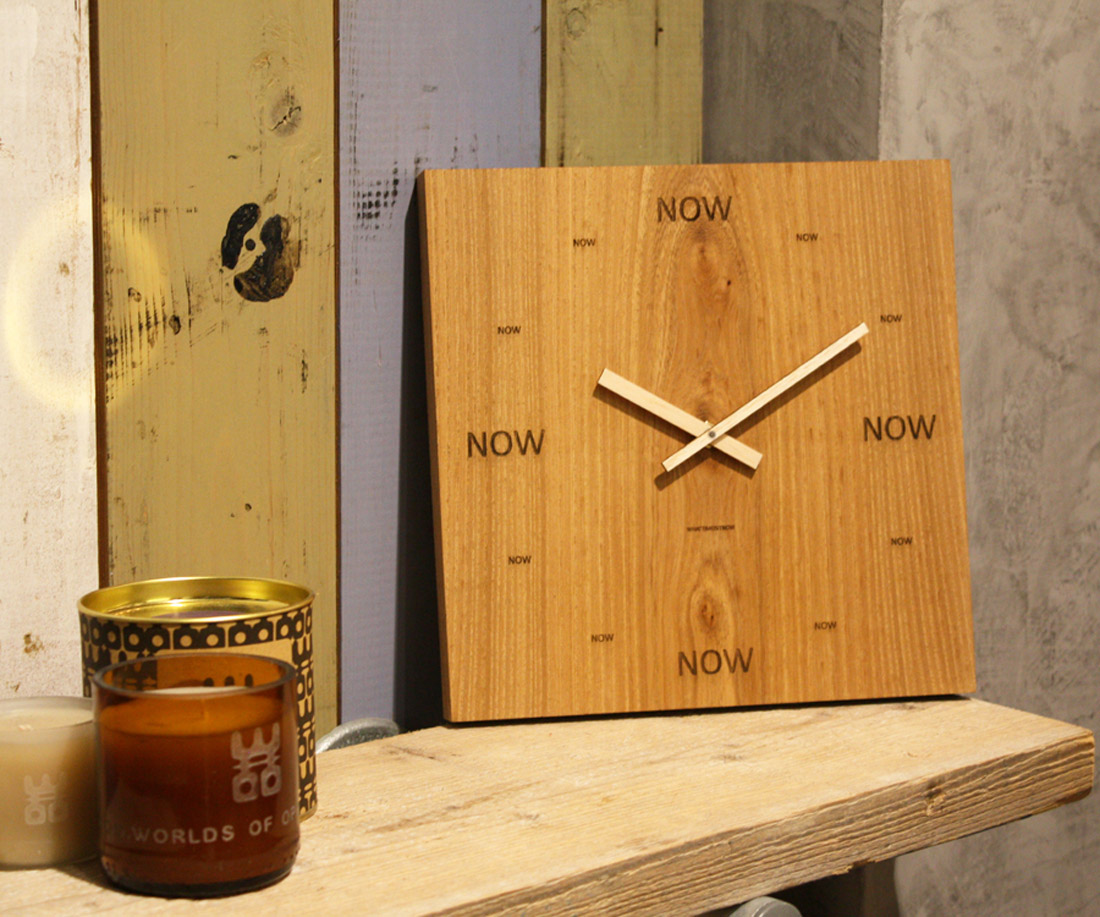 NowNowClock in Store